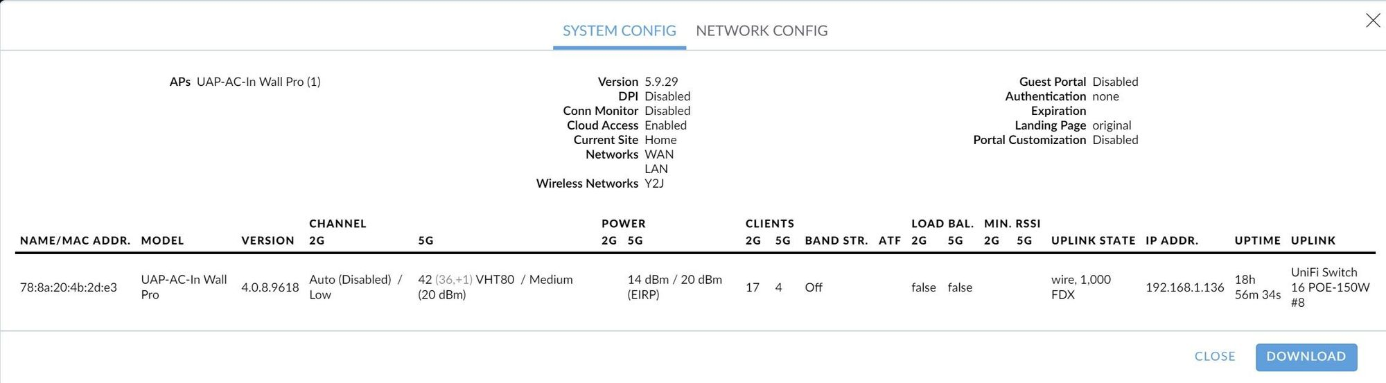 New Unifi System, Problem with Slow / Throttled Download