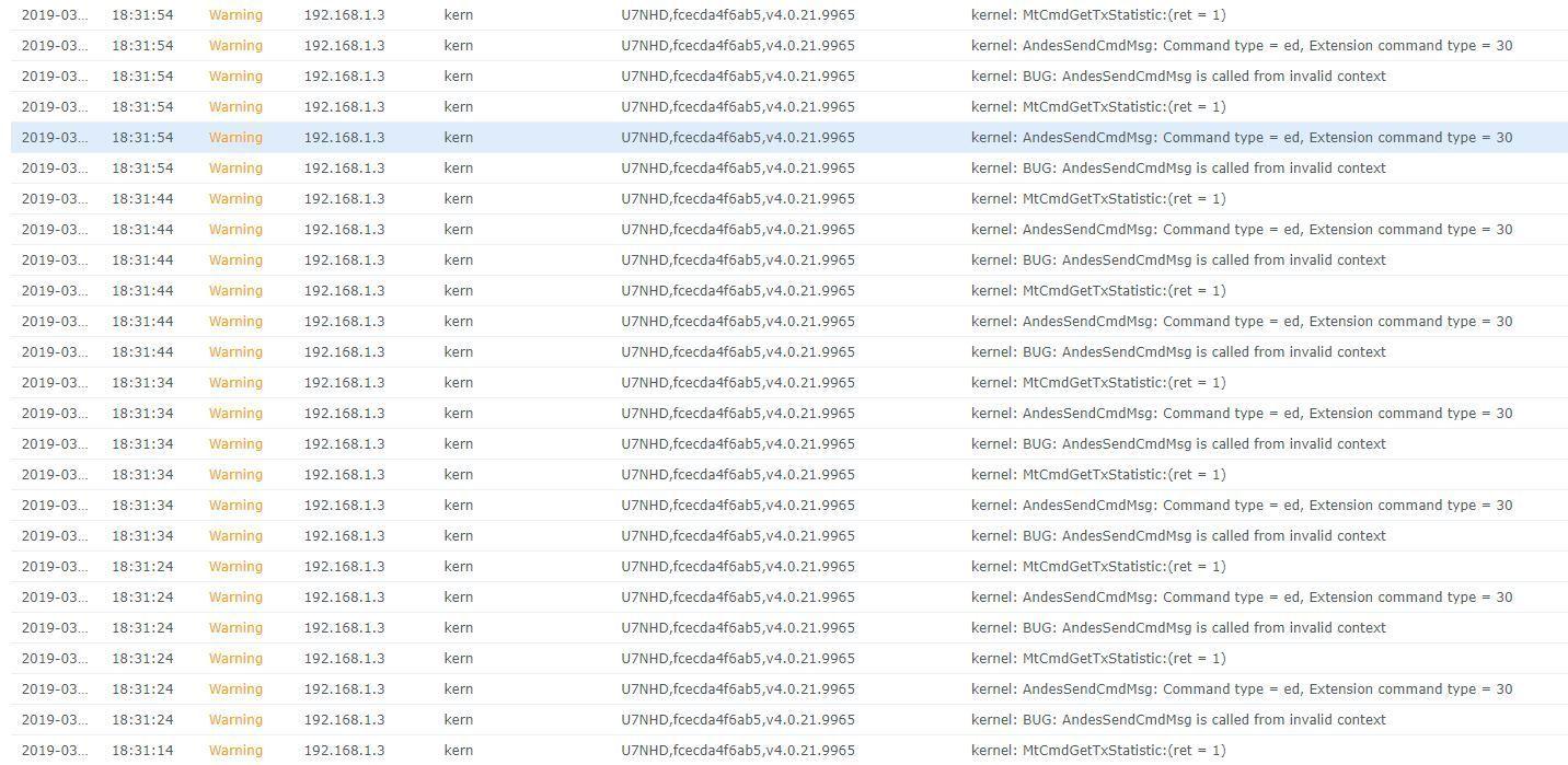 Nano-HD Warning logs every 10 seconds   Ubiquiti Community