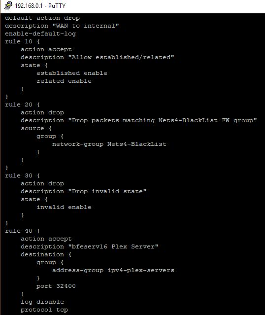 Firewall Rule Stats zero | Ubiquiti Community