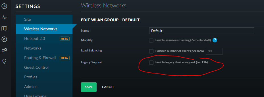 Unifi Wireless not working with Belkin Wemo switches