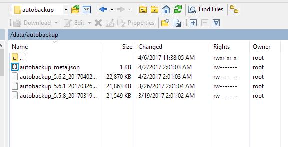 Cloud Key CLI Backup command | Ubiquiti Community