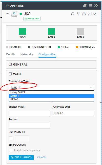 UniFi USG/ PPoE/ Static IP | Ubiquiti Community
