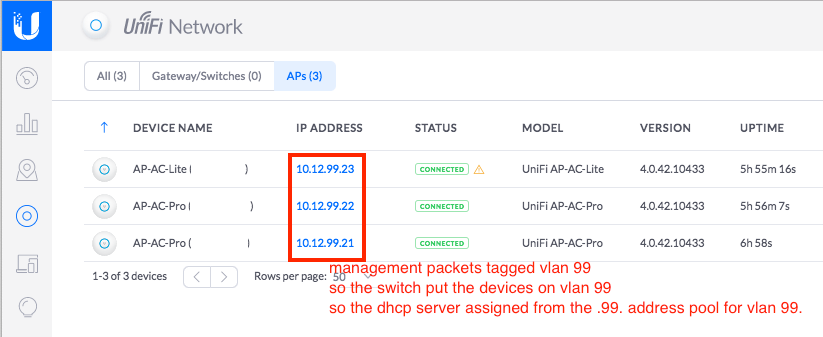 UniFi Devices and the Management VLAN - where to put all the stuff