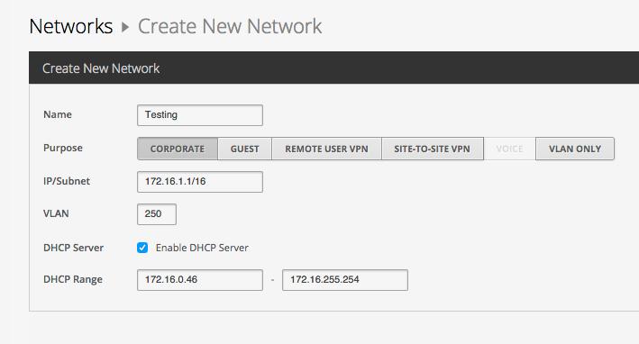 DHCP server on UniFi AP | Ubiquiti Community