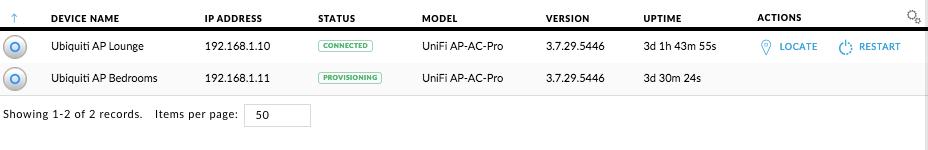 AP stuck in provisioning mode | Ubiquiti Community